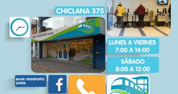 Horario de Atencion - Chiclana 375-01